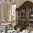 Traditional Brown Dining Room