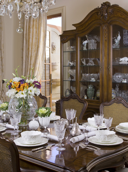Traditional brown dining room dining room decorating ideas lonny