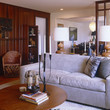 Brown-Gray Contemporary Family Room