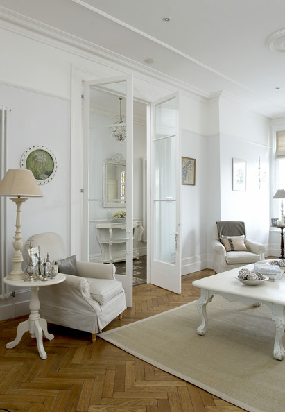 White Living Room Photos Of