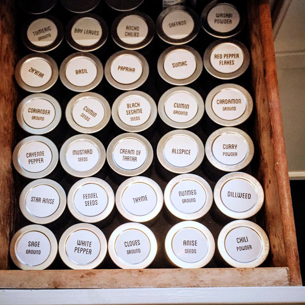 Move Spices Into Drawer
