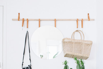 DIY To Try: Small Space Entryway Organizer