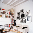 A Living Room For Book Lovers