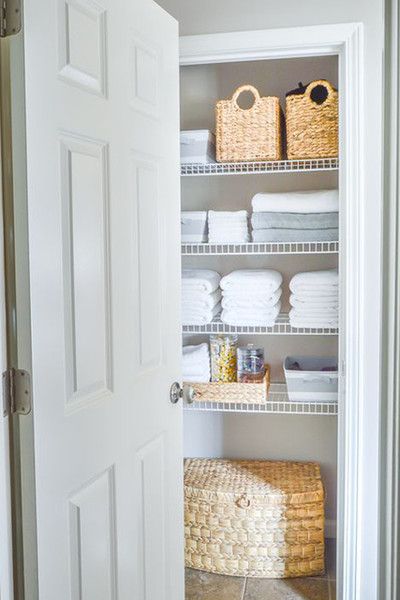 At-The-Ready Linen Closet