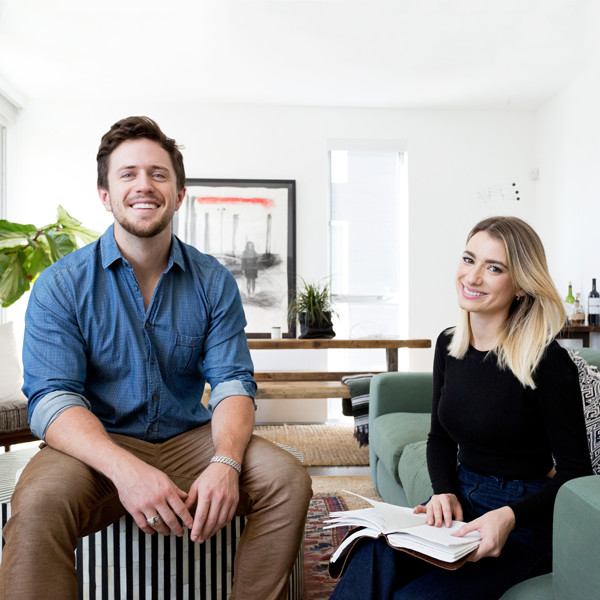 Pierce Brown's Bachelor Pad Brings The Drama To A Cali Cool Space