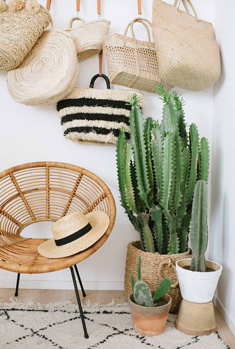 Totally Tonal - 15 Ways To Style Your Accessories As Decorative Objects - Lonny