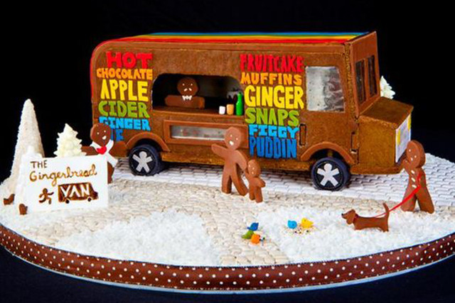 Sugar Plum Truck 10 Modern Gingerbread Houses That Are