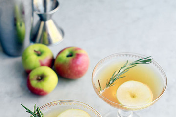 First Day of Fall Cocktail: Apple-Cider Spritzer