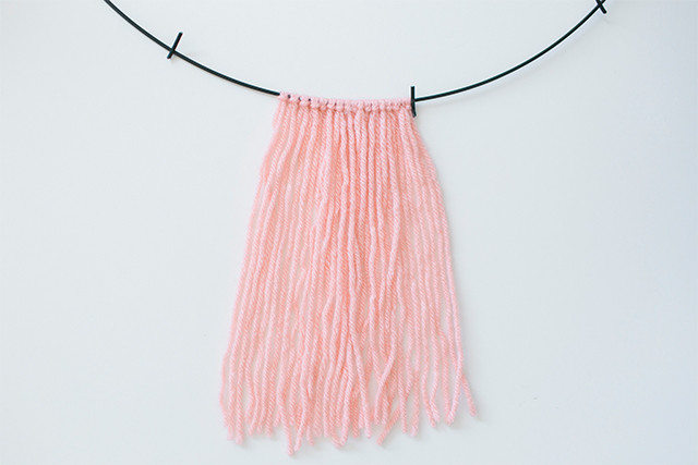 DIY to Try: Yarn Chandelier