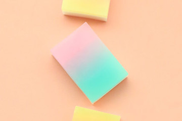 DIY To Try: Bathroom-Elevating Gradient Soaps