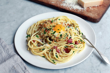 A Comforting Pasta Carbonara to Get You Through Winter