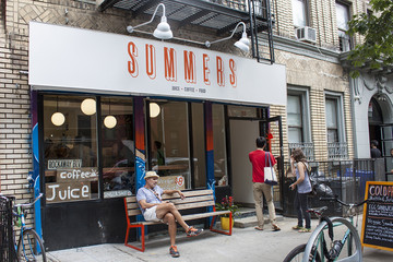 Storefront Renovation We Love: Summers Juice & Coffee