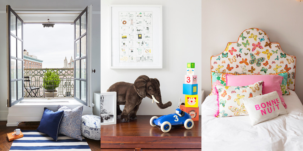 The children's rooms not only house their favorite toys and games, but are also designed to transition with them as they grow.