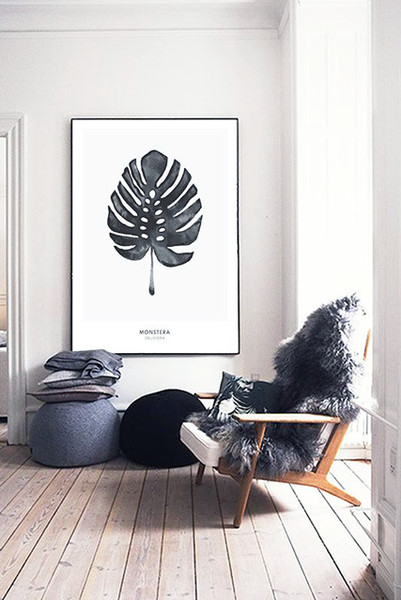 Monstera Art