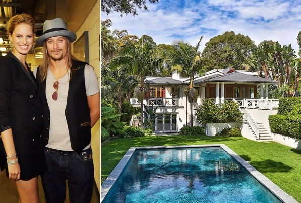 Inside Kid Rock's Malibu Mansion