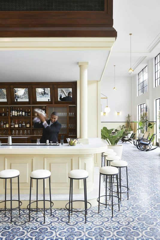 Wish We Were Here: American Trade Hotel | Lonny.com