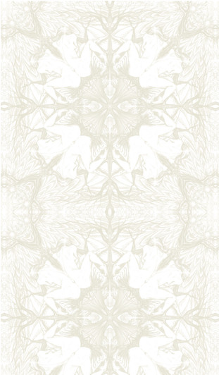Nymph Wallpaper in White Stone by Michele Varian