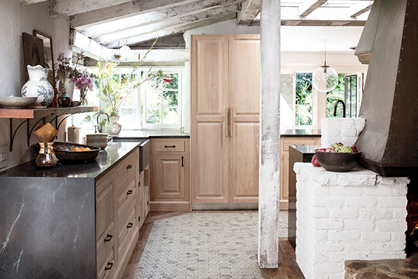 Take A Peek Inside Leanne Ford's Earthy L.A. Kitchen