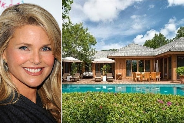 Christie Brinkley's Caribbean Beach House