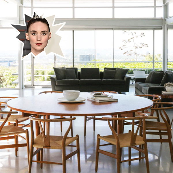 Rooney Mara's Gorgeous Mid-Century L.A. Home