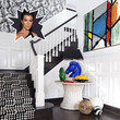 Kourtney Kardashian's Foyer