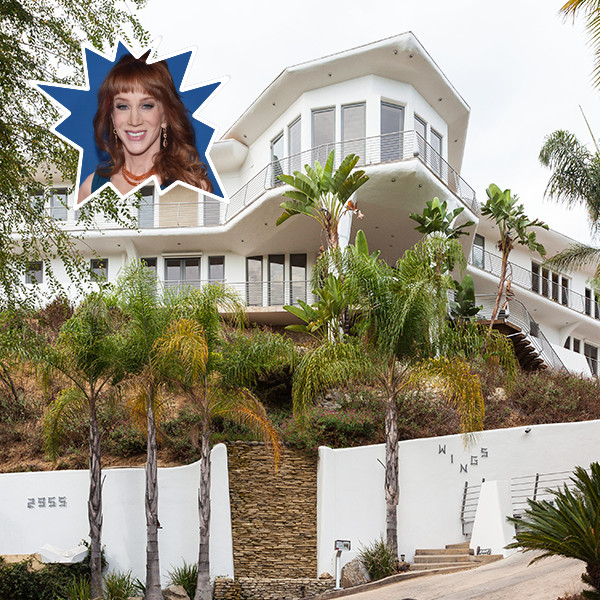 Kathy Griffin's Hollywood Hills Home Is A Modern Marvel
