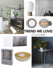 Trend We Love: Concrete
