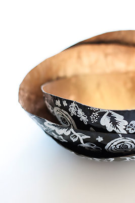 DIY To Try: Paper Mache Nesting Bowls