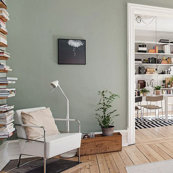 12 reasons why sage green is the coolest new wall color - What color is sage green ...