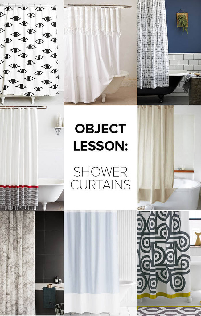 Object Lesson Shower Curtains