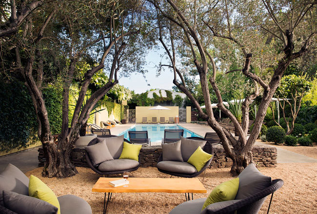 outdoor living ideas from one of the best hotel pools around rh lonny com