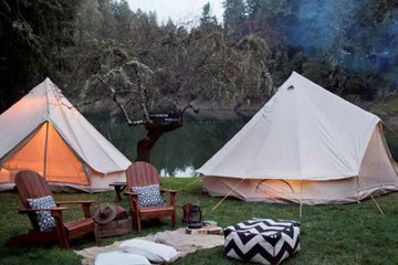 We Can't Get Enough Of The Glamping Trend