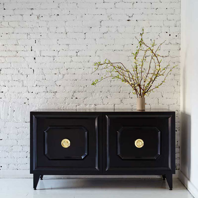 The Wythe Media Cabinet, $2,795, by Katy Skelton.