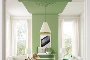 """This Paint Treatment is the New """"Pop of Color"""""""