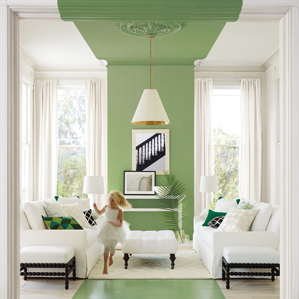 this paint treatment is the new pop of color color ideas 2014