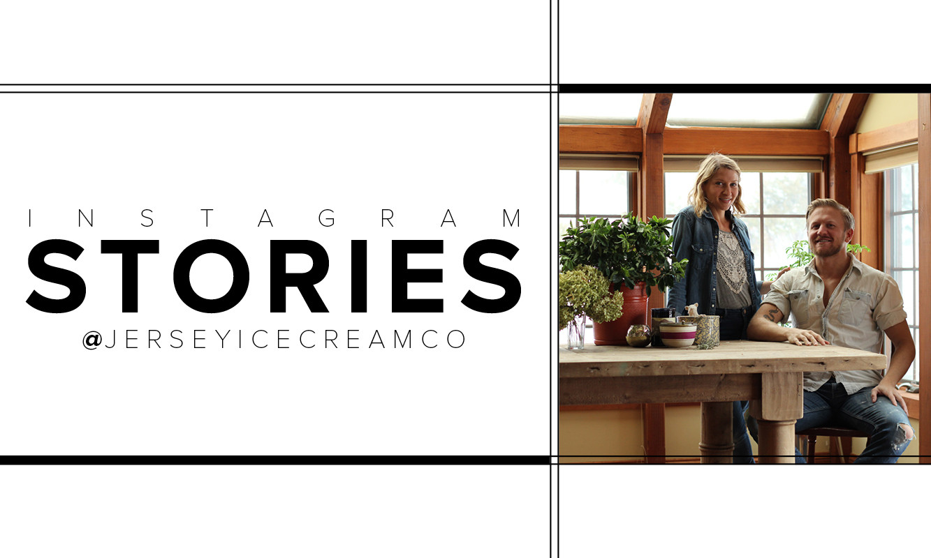 Tara Mangini and Percy Bright, the design minds behind interiors firm Jersey Ice Cream Co.
