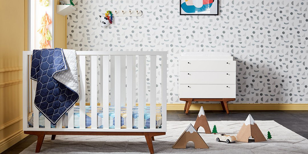 West Elm's Collab With Pottery Barn Kids Is A Mid-Century Dream Come True