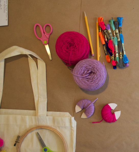 Mother's Day Tote Supplies