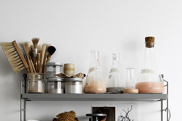 Pinterest Board Of The Week: Hold-It-All Shelf Styling