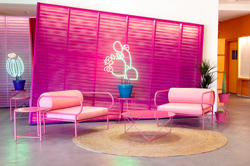 This Color-Soaked Palm Springs Hotel Has Us Ready For A Vacation
