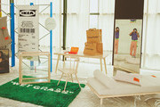 Virgil Abloh's New IKEA Collection Brings The Off-White Vibe To Furniture