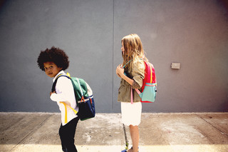 These Cool Kids' Backpacks Make Us Feel All Warm and Fuzzy Inside