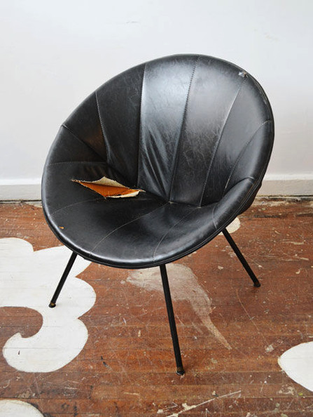 The Saucer Chair Makeover