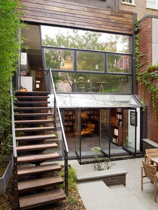 Manhattan townhouse by Archi-Tectonics via Pinterest.