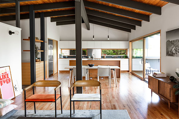 Take A Peek Inside This Not-So-Rustic Lake Washington Home