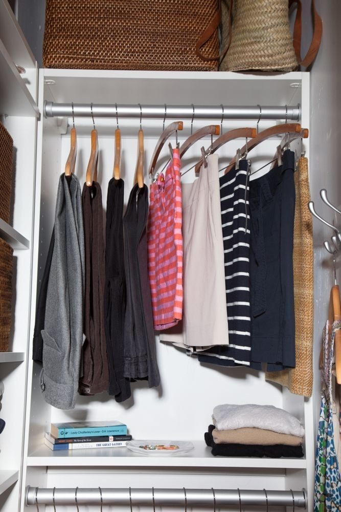 Hang time before after an editor 39 s closet makeover for California closets reno