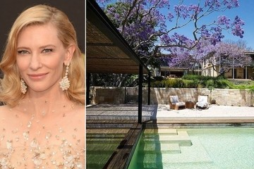 Cate Blanchett Lists $20 Million Sydney Mansion