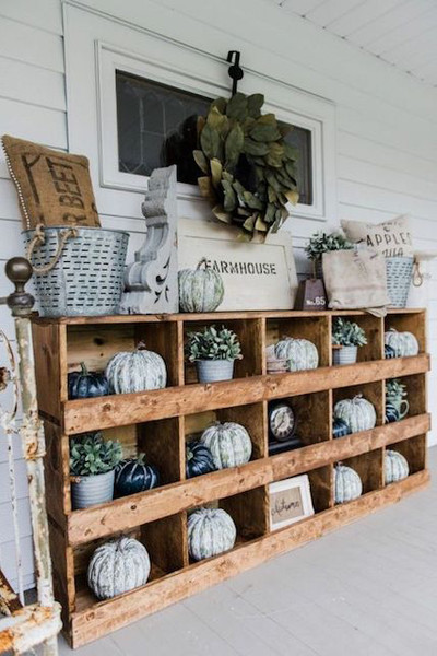 Farmhouse-Style Nesting Boxes