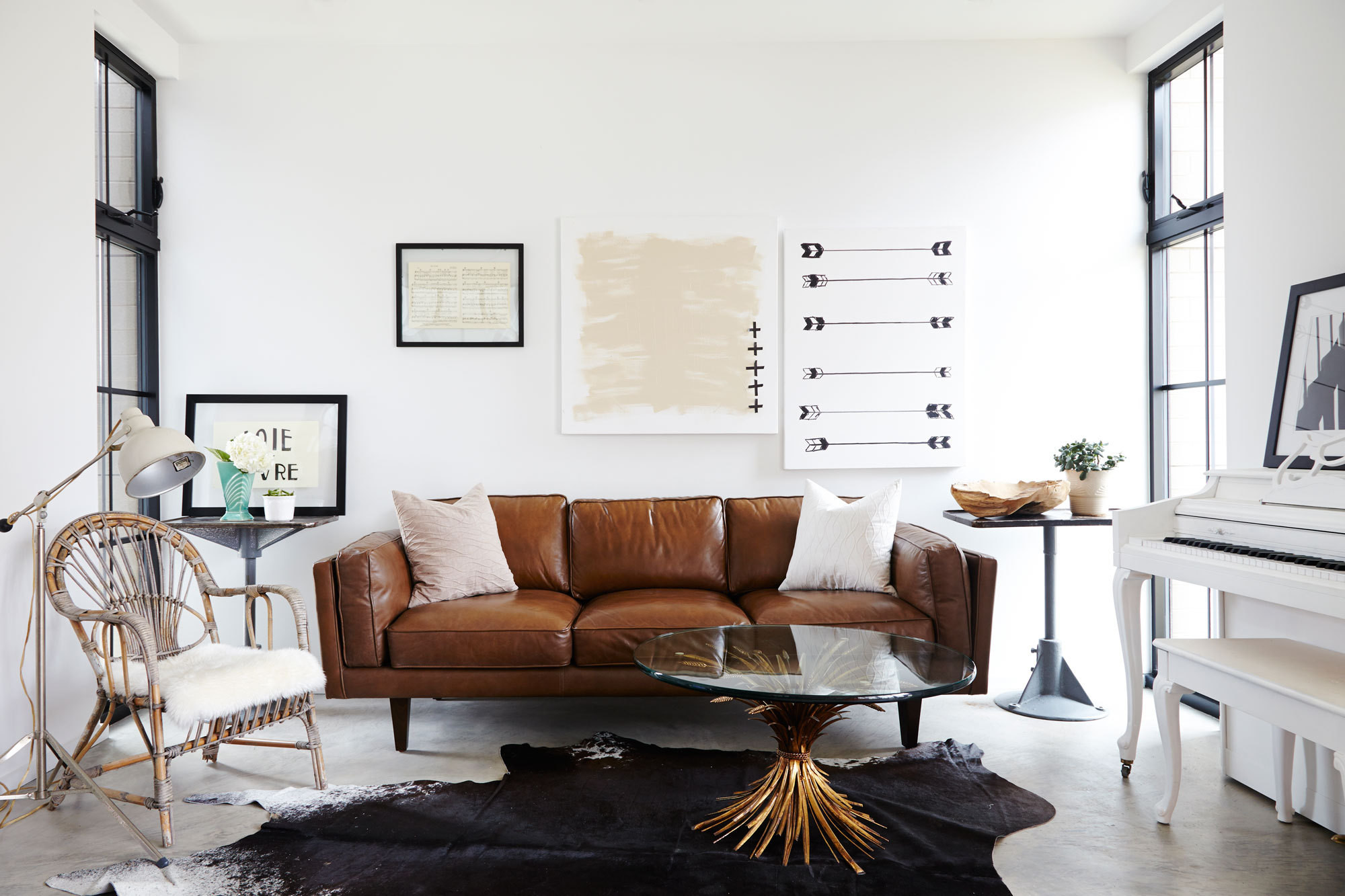 Pitch Perfect - Home Tour: An Ohio House by Leanne Ford - Lonny