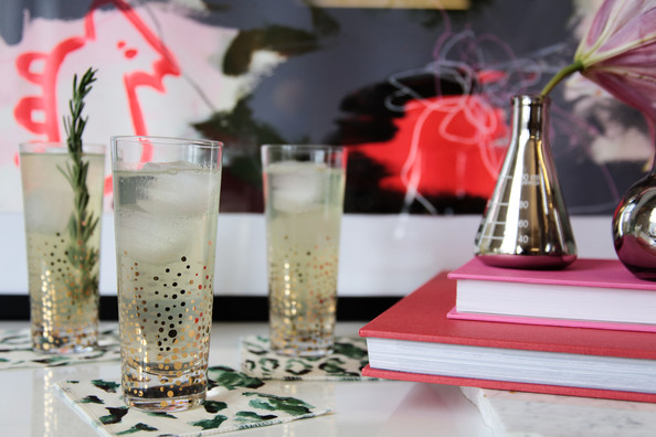 Rosemary-Mint Tom Collins